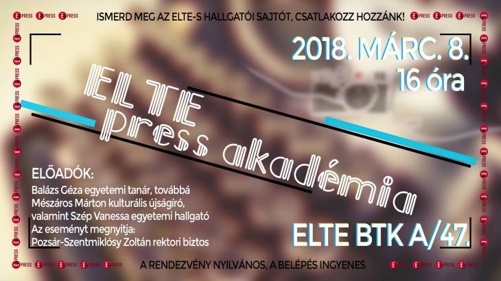 elte press akadémia