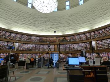 Könyvtár - Stockholm