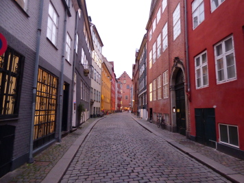 Koppenhága legrégebbi utcája