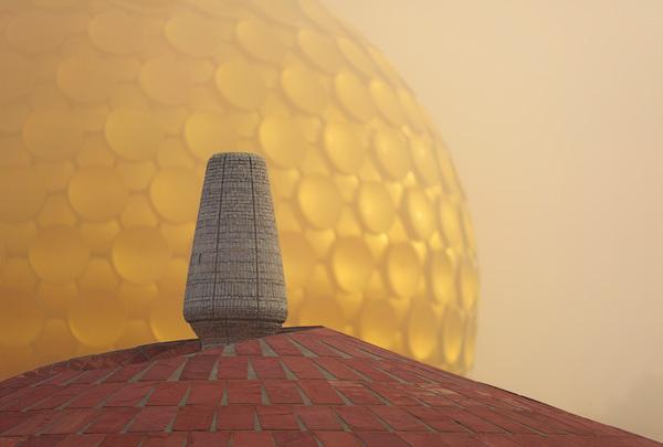 A földet tartalmazó urna