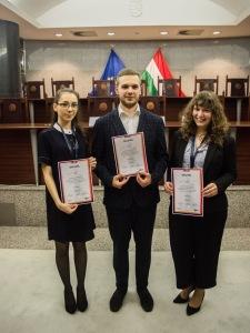 Varga Dominika, Szabó Patrik és Lebedi Réka