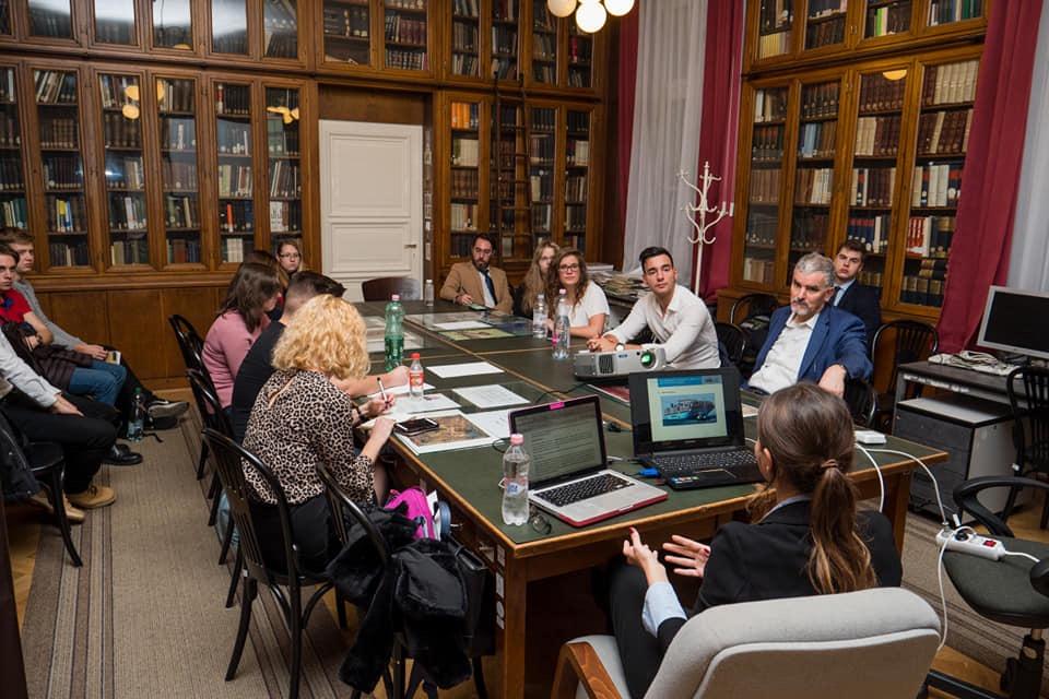 A Római Jogi TDK egy korabbi ülése