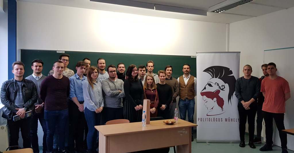 A Politológus Műhely novemberi belső képzésének vendége Vona Gábor volt. kép forrása: Politológus Műhely Facebook