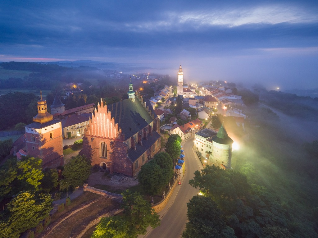 Biecz - a középkorban a lengyel-magyar gazdasági kapcsolatok központja (forrás a város Facebook oldala)
