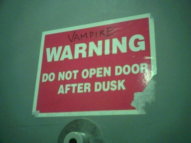 vampire-warning-sign